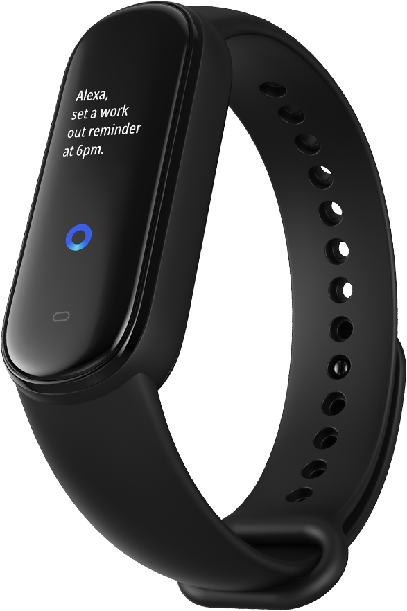 Amazfit Band 5 - Alexa function