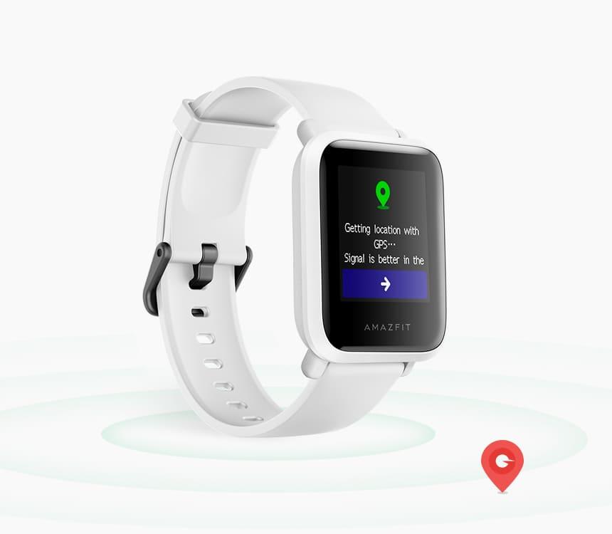 Amazfit Bip S mit GPS-Funktion